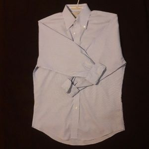 Nordstrom traditional fit smart care shirt.